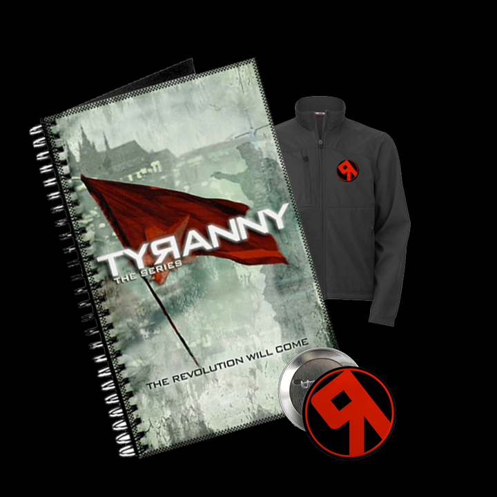 Tyranny store product collage